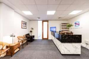 Spinescan Reception Best Chiropractor South Perth, Como, Ardross and Applecross